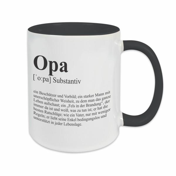 Tasse - Definition Opa