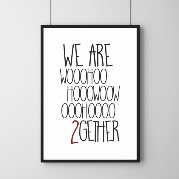 Poster - Wohoo 2gether