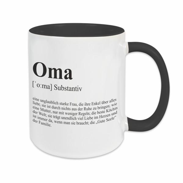 Tasse - Definition Oma